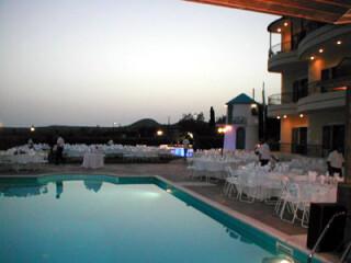 weddings marina anna pool area