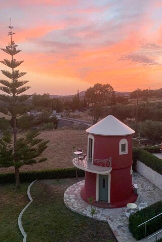 windmill marina anna sunset